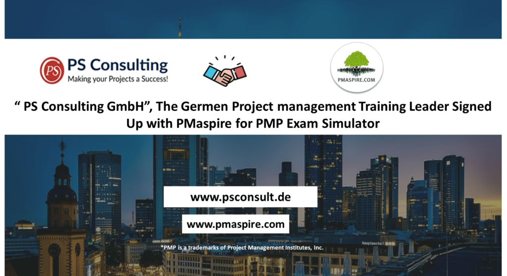 PMaspire Partner Account for PMP Exam Simulator